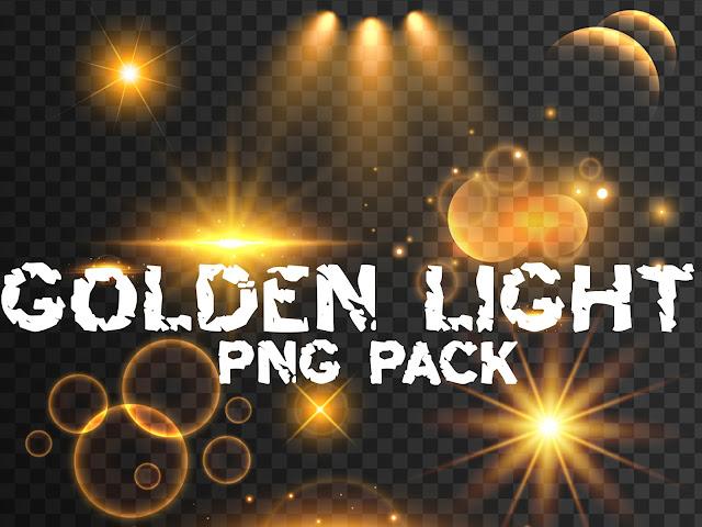 Golden Light Png