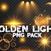 Golden Light Png I Golden Lens Flare