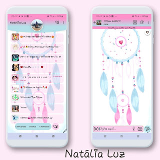 Wind Rosas Theme For YOWhatsApp & Fouad WhatsApp By Natalia Luz