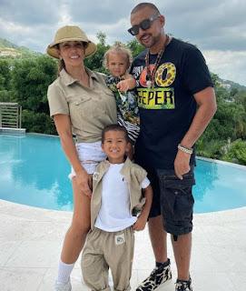 Jodi Stewart with her spouse & their children