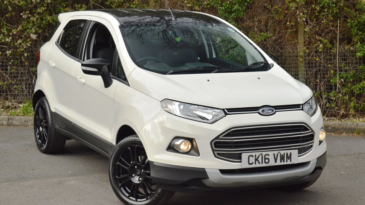 ford ecosport titanium s launch on may 14 2018 car4biker. Black Bedroom Furniture Sets. Home Design Ideas