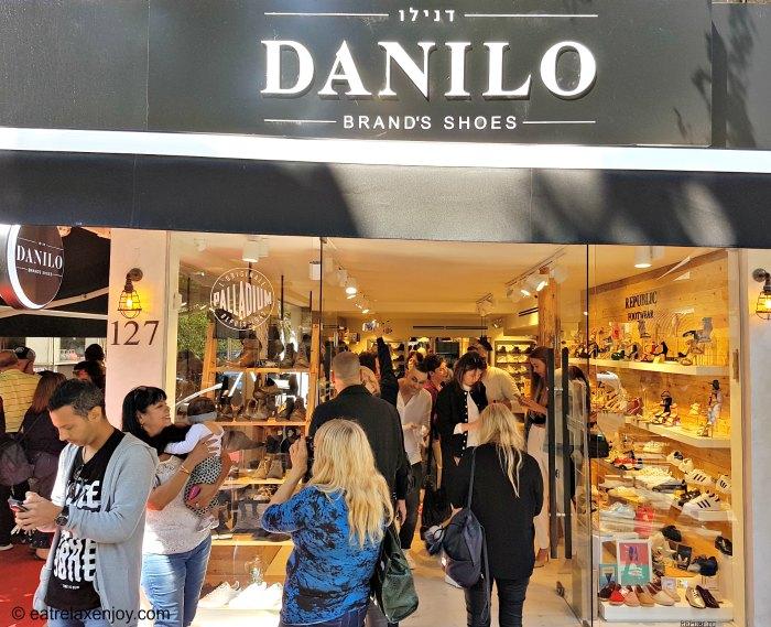חנות חדשה לנעלי דנילו נפתחה במקום מיקולינסקי בדיזנגוף 127
