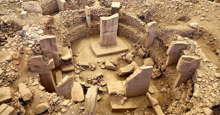 Göbeklitepe, 11.000 yıl önce Şanlıurfa'da inşa edilmiş olan en eski yapıdır.