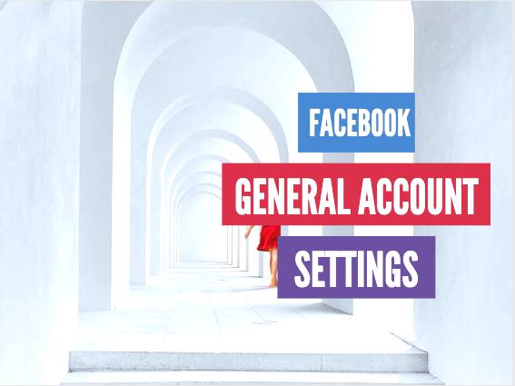 Facebook Account Setting Menu – Settings & Privacy