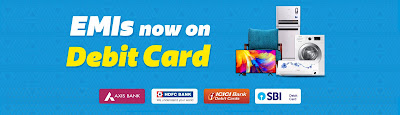 How to get flipkart debit card emi, get emi with debit card on flipkart