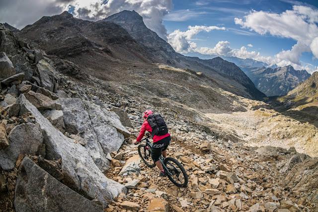 MTB-Tour: Rieserfernerhütte 2792 m.ü.A. Mou