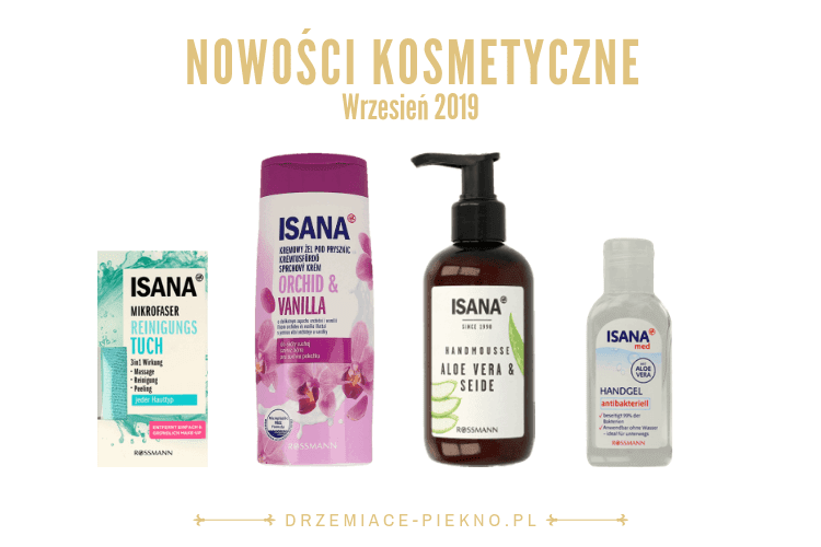 Nowości kosmetyczne Rossmann Wrzesień 2019