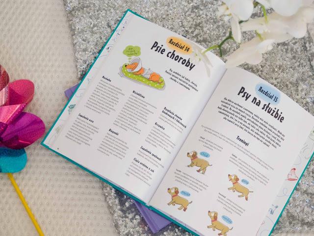 wydawnictwo Dragon seria książek Wszystko o psie