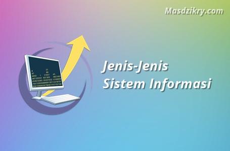 Jenis jenis sistem informasi