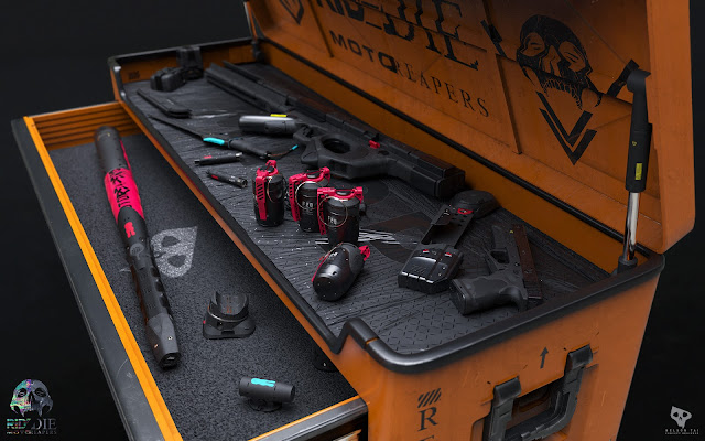 MotoReaper Tool Chest by Nelson Tai