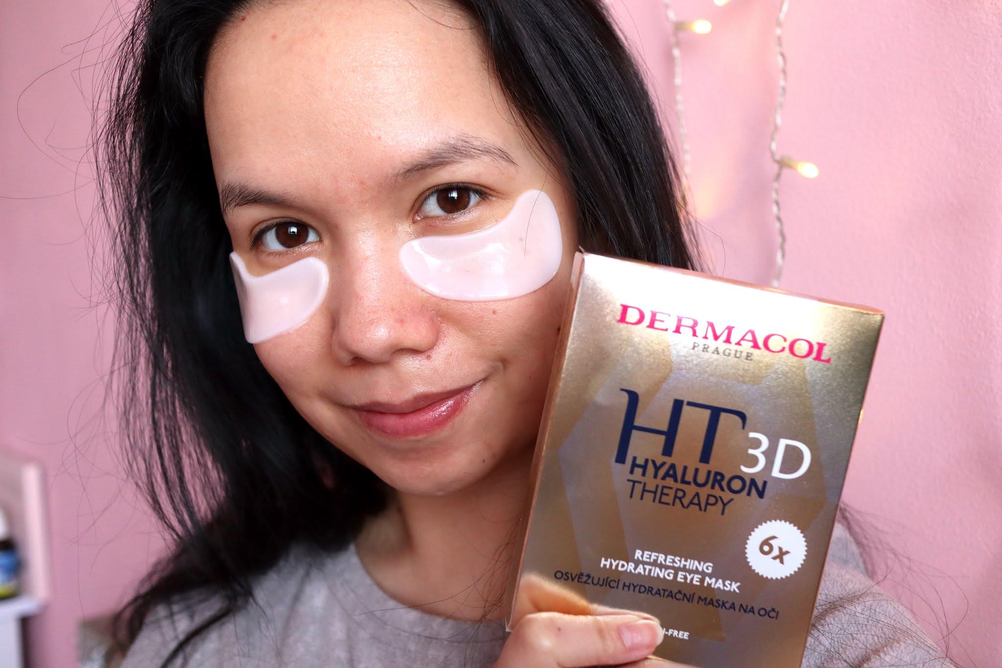 Hyaluron Therapy Dermacol D maska pod oči