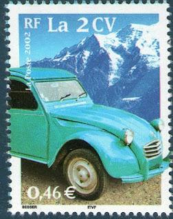 Citroen Stamp Stamp France