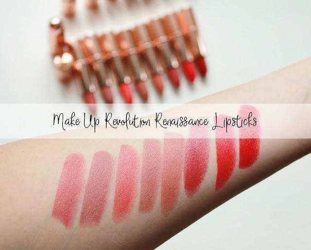 Make Up Revolution Renaissance Lipsticks - Part 2