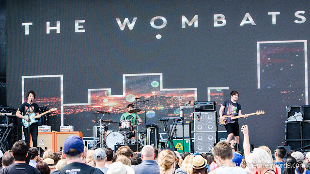 The Wombats at Bestival Toronto 2016 Day 2 at Woodbine Park in Toronto June 12, 2016 Photos by John at One In Ten Words oneintenwords.com toronto indie alternative live music blog concert photography pictures