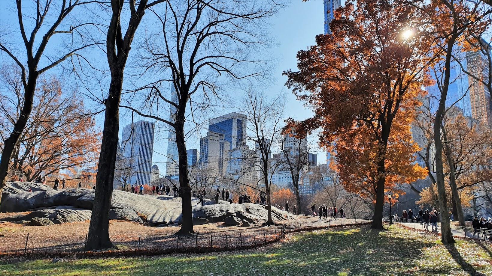 Umpire Rocks, Central Park, New York City