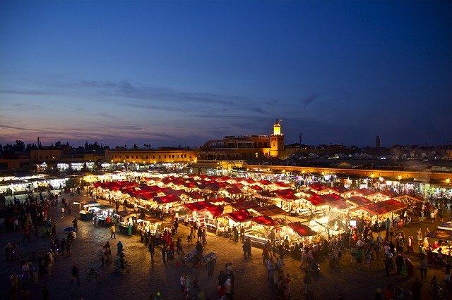 أفضل الأماكن السياحية في مدينة مراكش