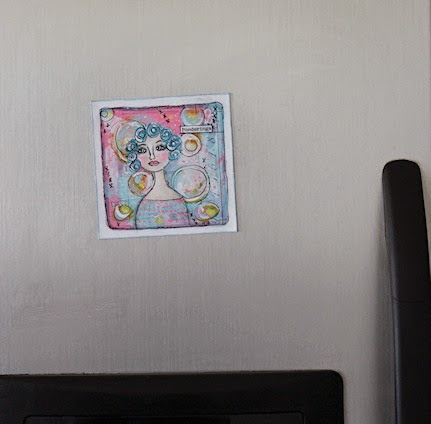 Lonely Fridge Magnet