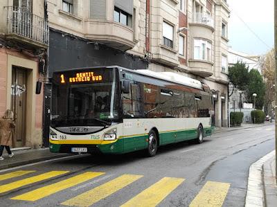 Un dels nous vehicles, en servei a la línia 1. Foto: Arnau Crespo.