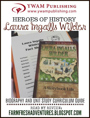 Heroes of History~ Laura Ingalls Wilder {Product Review}
