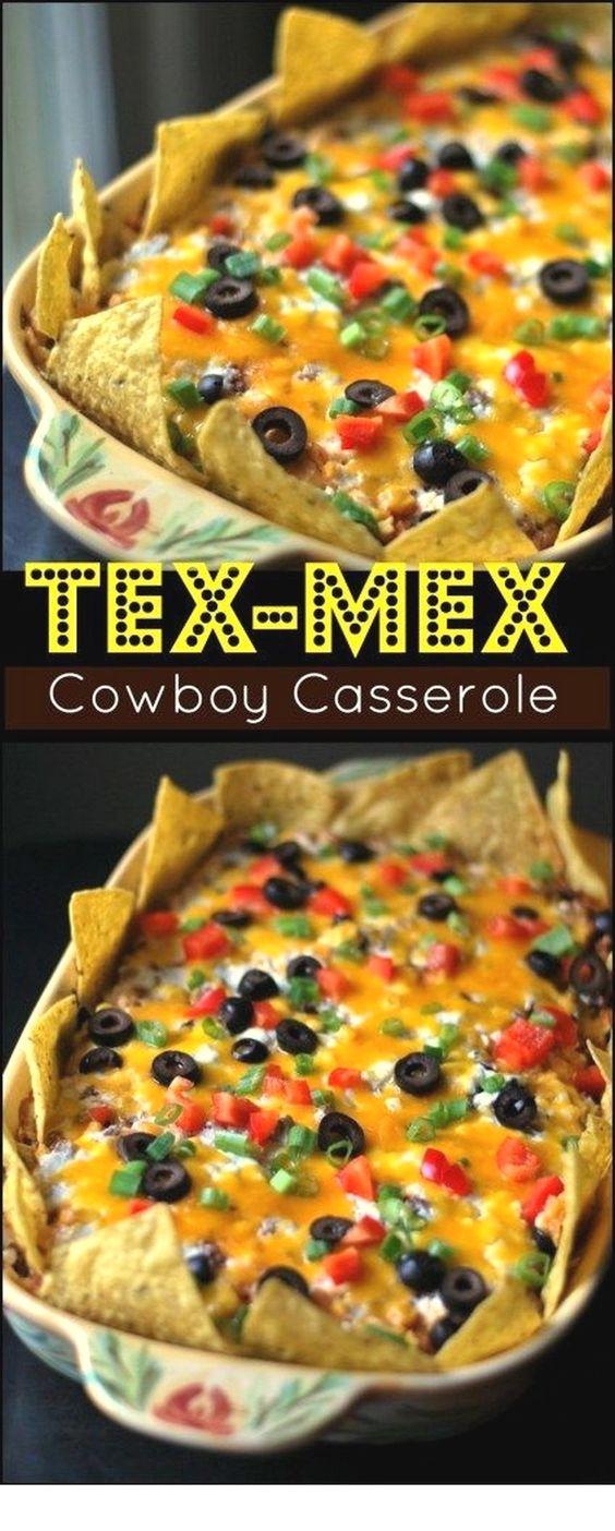 Tex-Mex Cowboy Casserole
