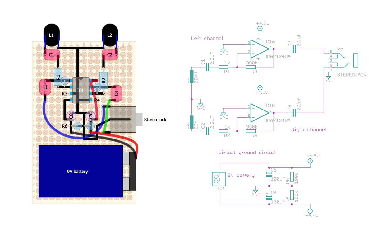 Elektrosluch 9v Battery Series Wiring Diagram Some Things To Be Mindful Of Even Though I Have An On Off Switch Leaving The In Circuit Sucks It Dry Power Yet Understand Why