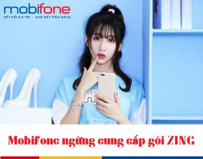 Mobifone ngừng cung cấp gói ZING
