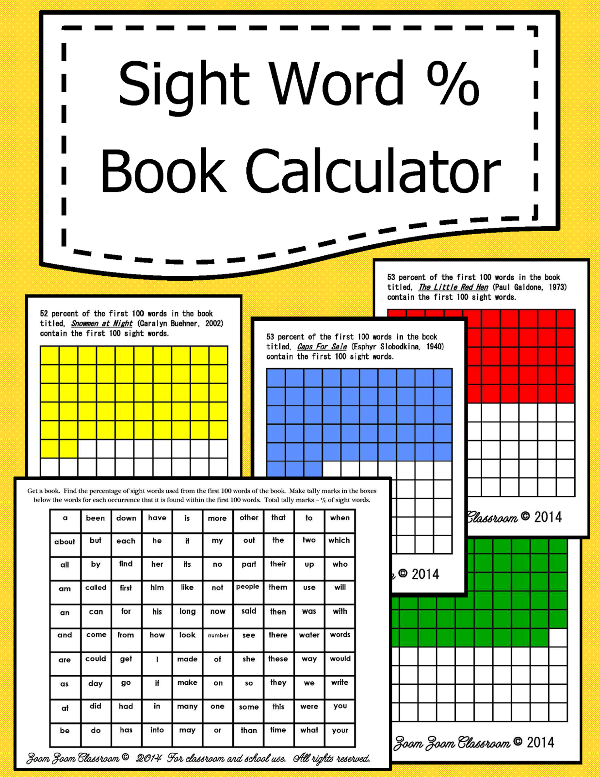 http://www.teacherspayteachers.com/Product/Sight-Word-Perecentage-Calculator-1340826