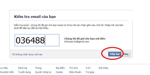 lấy lại tài khoản facebook bị khóa bị mất