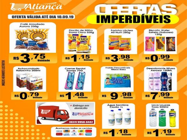 O supermercado aliança tem os melhores preços, confira mais uma grande promoção
