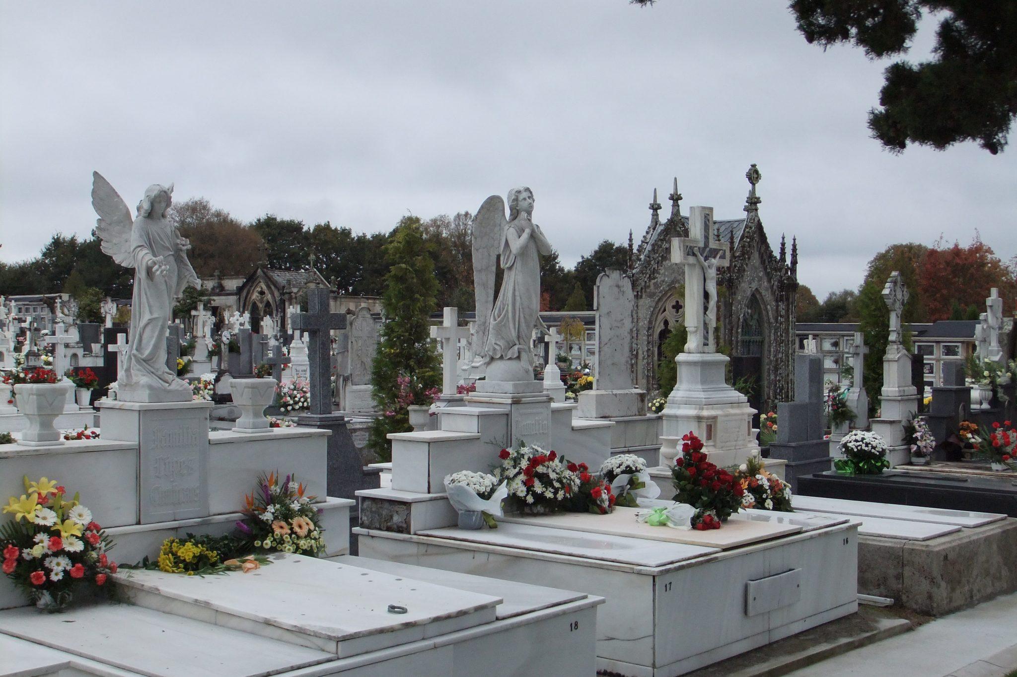 Cemetery of San Froilán (Lugo, Spain)