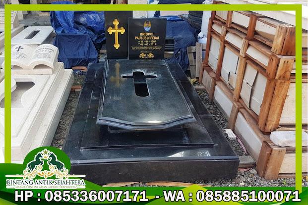Model Makam Katolik terbaru, Makam Katolik Granit, Contoh Makam Katolik