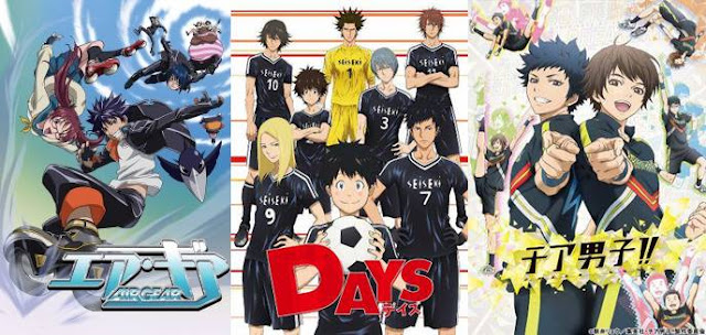 daftar Anime Sports 2018