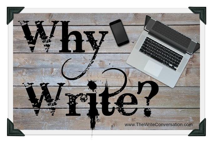 Why we write ?