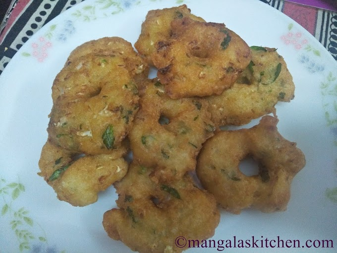Mixed Vegetable Vadai | Kaikari Vadai | Vegetables mixed Crunchy Vada