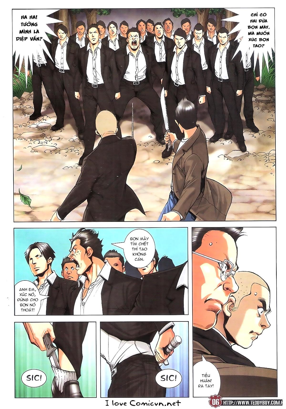 Người Trong Giang Hồ chapter 1805: thiên đao vạn trảm trang 5