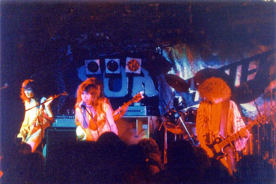 SSSteele on stage at The Soap Factory 1983