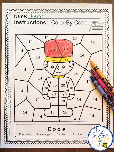 If you are looking for a resource for math remediation while still giving your students some confidence while reviewing important math skills, you will love this series. These five Color By Number worksheets focus on Numbers 11 to 20 with a cute Humpty Dumpty theme. The five pages have only a few color selections and only a few numbers, to help your students focus on the repetitive pattern of numbers 11 to 20. All the while giving your students a fun and exciting review of important math skills at the same time! You will love the no prep, print and go ease of these printables. As always, answer keys are included.