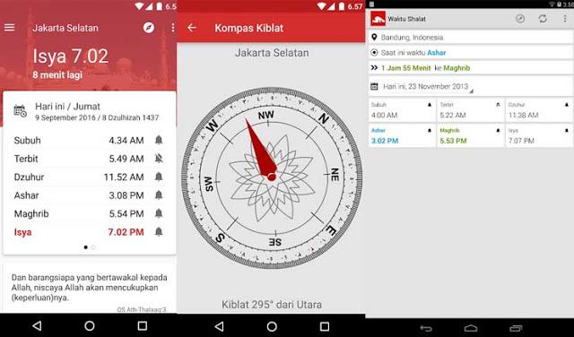 Jadwal Sholat dan Imsakiyah - Aplikasi Adzan Terbaik Dan Jadwal Sholat Indonesia