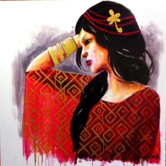 Французский художник. Julie Vandeputte