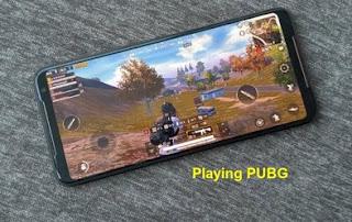 Asus ROG Phone 2 playing pubg