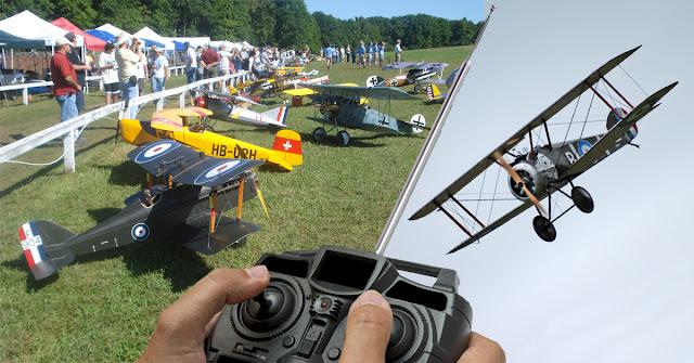 amateur radio remotecontrol plane