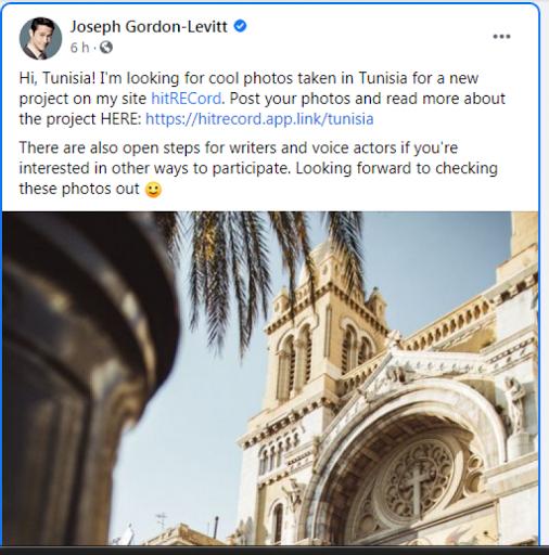 الممثل العالمي جوزيف غوردن ليفيت يختار تونس لاطلاق مشروعه الجديد (صور) !