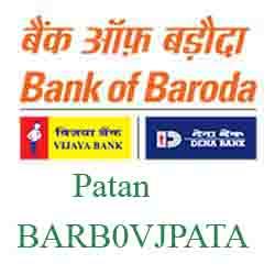Vijaya Baroda Bank Patan Branch New IFSC, MICR