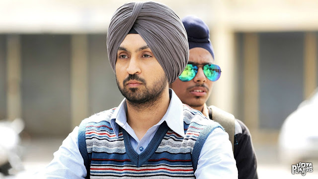 Diljit Dosanj as Sartaj in Udta Punjab,Directed by Abhishek Chaubey