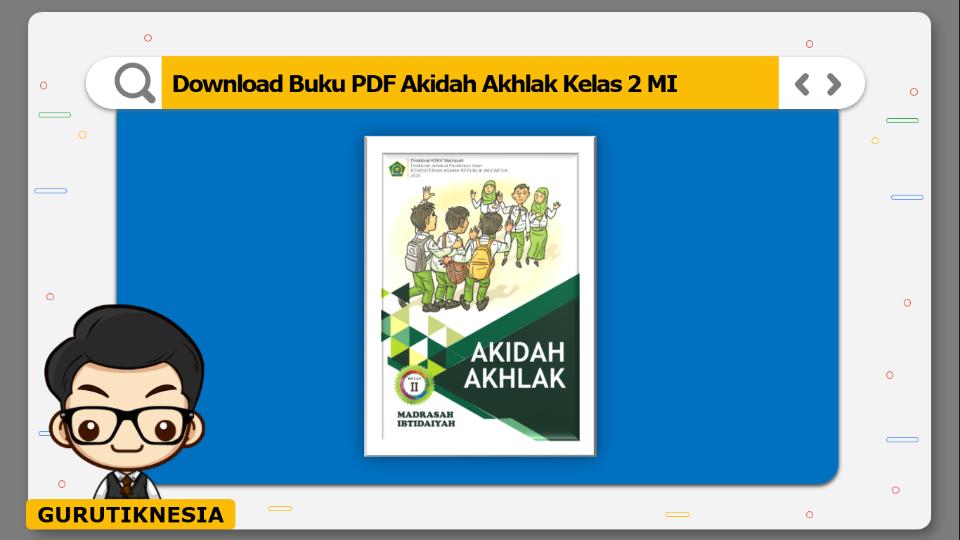 download buku pdf akidah akhlak kelas 2 mi