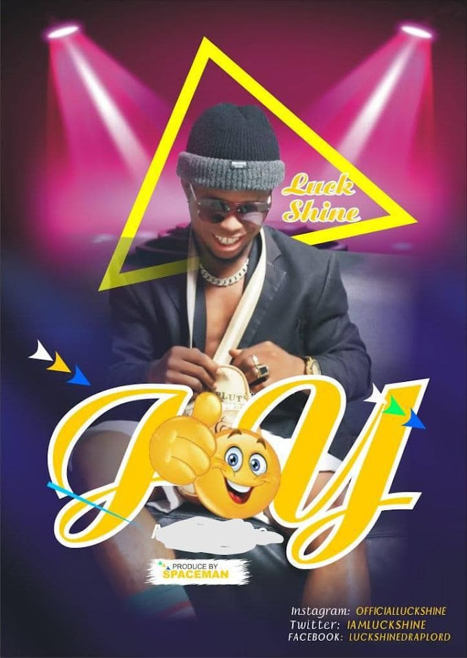 AUDIO: LUCKSHINE __ JOY (Prod by spaceman & donprexy)