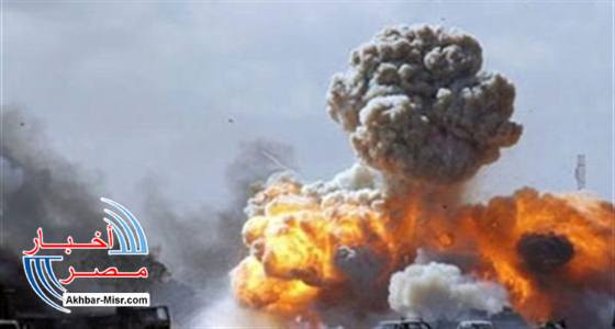 انفجار هائل
