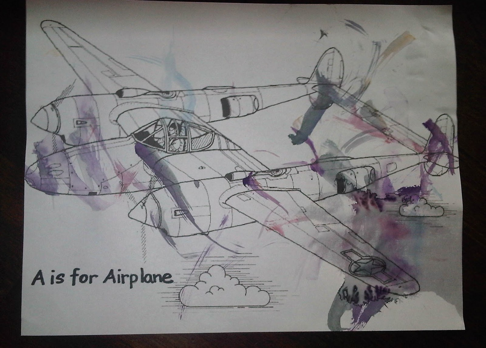 Mrs Mommy A Is For Airplane