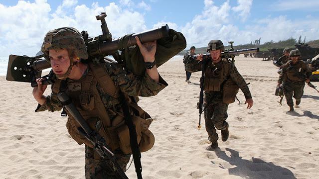 """El Cuerpo de Marines de EE.UU. ensaya la guerra contra un enemigo """"tecnológicamente avanzado"""""""