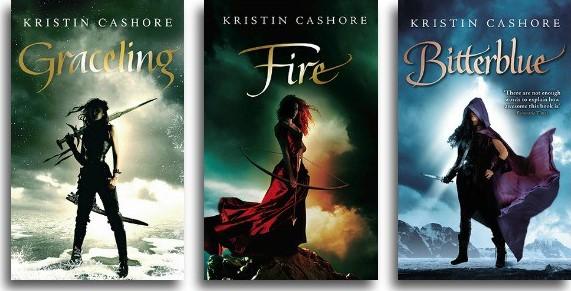 Graceling series - Kristin Cashore